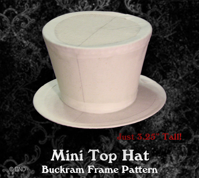 Buckram Frame Hat Patterns